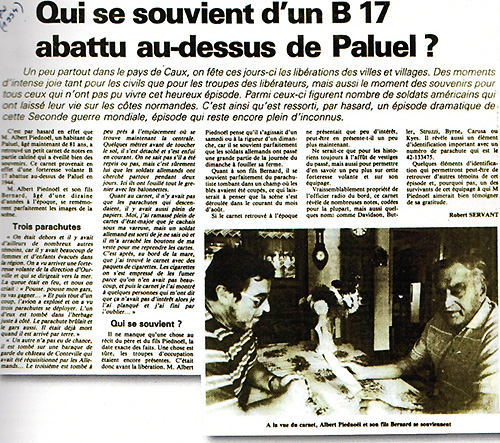 Article PARIS-NORMANDIE 1994